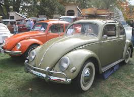 volkswagen beetle side view 1957 volkswagen