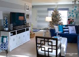 house of turquoise living room a turquoise blue and silver christmas the homes i have made