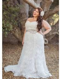 wedding dresses size 18 strapless lace white ivory plus size wedding dress with sash