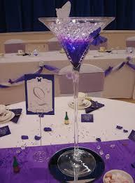 martini glass decorations for wedding martini glass centrepiece