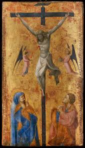 the crucifixion circa 1423 by paolo di dono called paolo uccello at agnews jpg