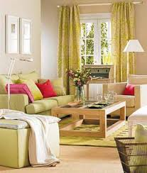 Decorative Fabrics And Textiles  Color Schemes For Living Room - Green and yellow color scheme living room