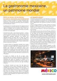cuisine patrimoine unesco la cuisine mexicaine déclaré patrimoine culturel immatériel de l