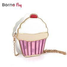 cupcake purse aliexpress buy new women clutch crossbody bag fashion