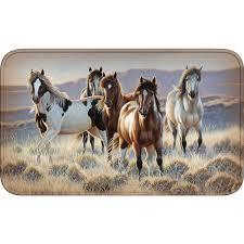 horse kitchen curtains bath accessories