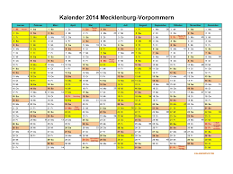 Kalender 2018 Feiertage Mv Kalender 2014 Mecklenburg Vorpommern Kalendervip