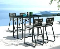 Bar Height Patio Furniture Clearance Bar Height Outdoor Table Gizmogroove