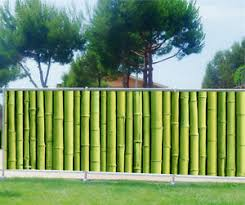 par vue de jardin brise vue imprimé jardin terrasse balcon déco bambous 9131 ebay