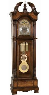 decorative clock 2517 ridgeway kensington grandfather clock cherry triple chime