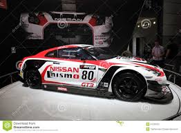 nissan race car nissan gt3 nismo racing car editorial stock photo image 41226253