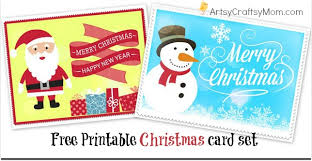 greeting cards free 2 free printable christmas cards print at home artsy craftsy