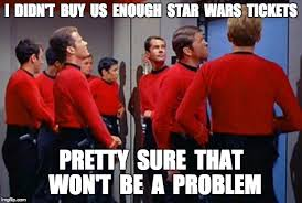 Red Shirt Star Trek Meme - star trek red shirts imgflip