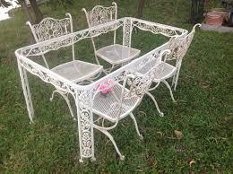 Retro Patio Table by Download Antique Wrought Iron Patio Furniture Michigan Home Design