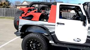 electric jeep mytop convertible electric soft top jeep wrangler youtube
