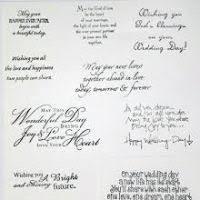 message for wedding card justsingit