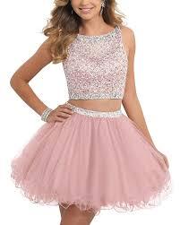 amazon com alw short beaded homecoming dress two pieces mini