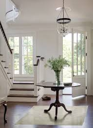 Entry Foyer Table Source Donald Lococo Architects Traditional Entryway With Glass