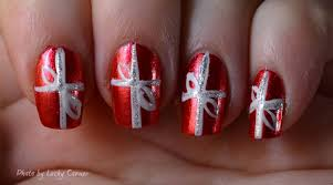 easy christmas nail art designs simple nail design ideas 50251