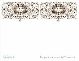 free bridal invitation templates wblqualcom word thank you card