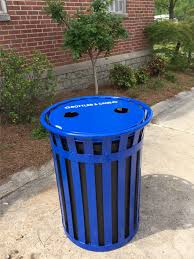 new recycling litter cans coming to downtown macon bibb county