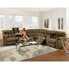 Sectional Sofa With Recliner Reclining Sectionals Franklin Furniture
