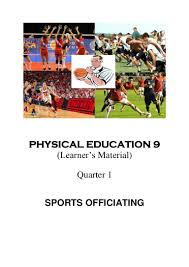 k to 12 grade 9 learner u0027s material in pe