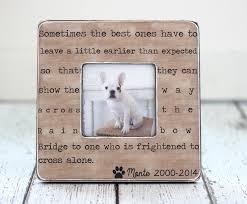 pet memorial gifts pet loss memorial pet sympathy gift dog cat rainbow bridge