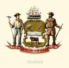 Deleware Flag Seal Of Delaware Wikipedia
