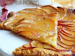 cuisine tarte aux pommes tarte aux pommes caramélisées le cuisine de samar