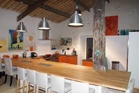 table de cuisine sur mesure cuisine de loft sur mesure photo 4 5 plan table en bois