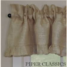 Burlap Ruffle Curtains 59 Best Curtain Call Images On Pinterest Blue Curtains And