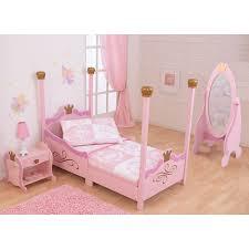 princess canopy beds for girls kidkraft princess toddler bed pink 76121 hayneedle