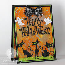 happy halloween card u2013 make time to craft