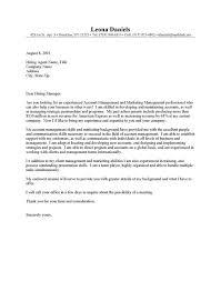 account manager cover letter 210 x 134 job description account