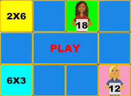 Multiplication Table Games by Multiplication Game Times Table 6