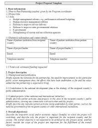 13 free sample government project proposal templates u2013 printable