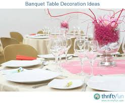 banquet decorating ideas for tables banquet table decoration ideas thriftyfun