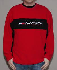 vintage hilfiger sweaters vintage hilfiger athletics fleece shirt size l roots