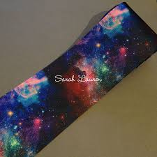 galaxy ribbon galaxy ribbon 75mm cheer bow ribbon