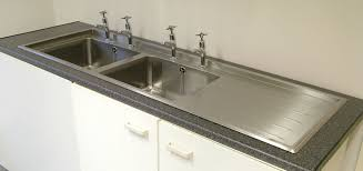 Stainless Design Services Ltd Double Bowl Inset Sink Tops - Double drainer kitchen sink