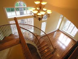 Radius Stairs by Custom Homes Beacon