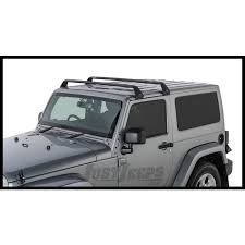 jeep parts buy rhino rack roof rack kit 2 vortex aero black bars