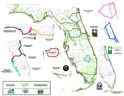 Florida Map East Coast C2c Only The Beginning Of Florida Trails Bike Walk Central Florida