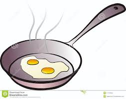 cooking an egg clipart clipartxtras