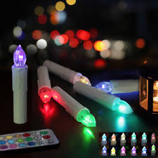 window candle lights with timer christmas tree candle light flameless electric window candles remote