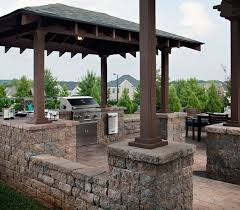 outdoor kitchens and lighting cutting edge hardscapes