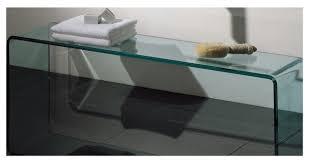 whitehaus new generation glass freestanding shelf u0026 reviews houzz
