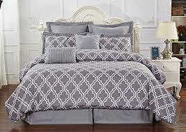 Unique Bed Sheets Unique Home 8 Piece Reversible Pinch Pleat Comforter Set Fade