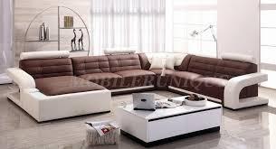 mod e de canap canapé d angle panoramique cuir italien 2 couleurs