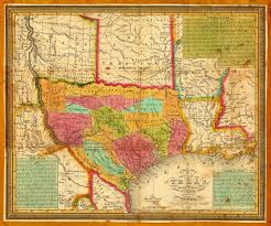 Texas Rivers Map Texas 1836 Young U0026 Mitchell Map Battlemaps Us